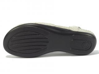 Sandál kůže stříbrný LR72764