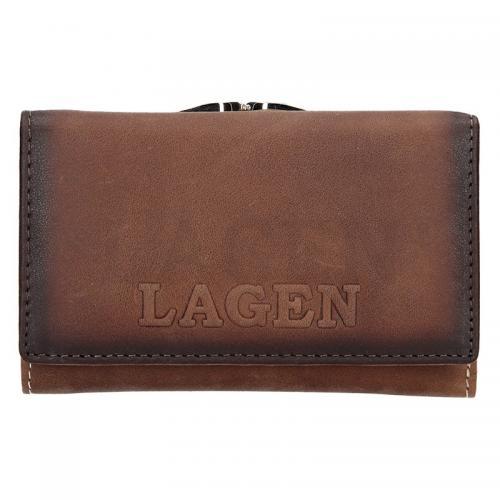 Lagen peněženka taupe V TPD 36