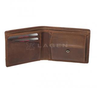 Lagen peněženka hnědá 1998/V