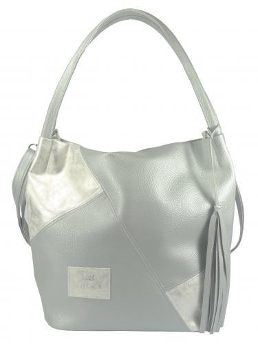 Carine kabelka stříbrná 227