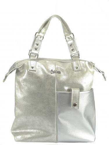 Carine kabelka stříbrná 135