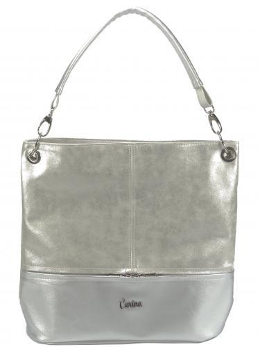 Carine kabelka stříbrná 92