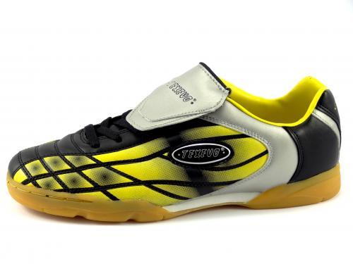 Sálová obuv černá, žlutá, stříbrná SOC 5030