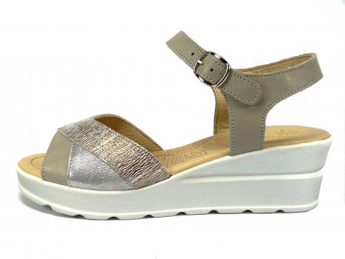 Sandál Grodecki stříbrný 1222