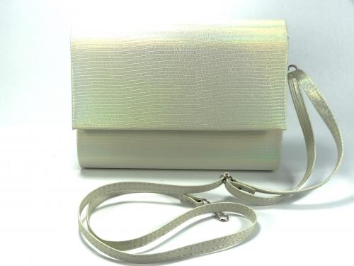 Psaníčko P0535/66 bílé metalové