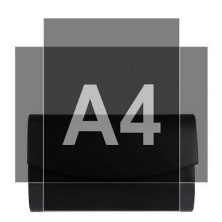 Psaníčko černé matné P0244