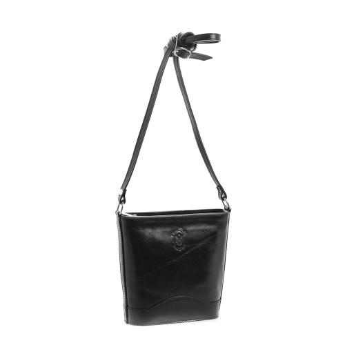 Vera Pelle 178 kožená kabelka černá