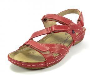 Sandál Helios červený 241