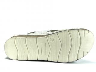 Sandál Helios stříbrný 253