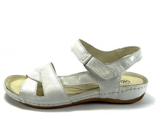 Sandál Helios stříbrný 246