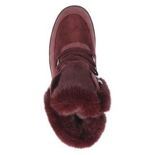 Zimní obuv CAPRICE bordó 26220