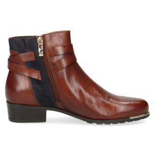 Kotníková obuv CAPRICE hnědá 25309
