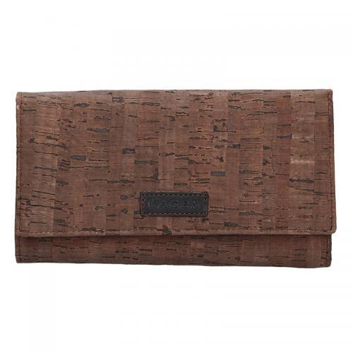 Lagen peněženka hnědá 50177