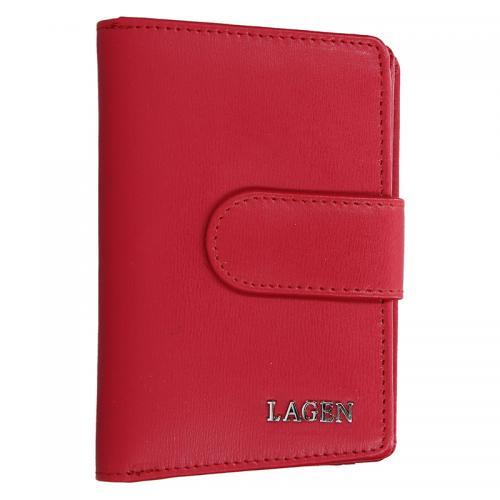 Lagen peněženka červená 50313