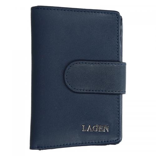 Lagen peněženka tm. modrá 50313