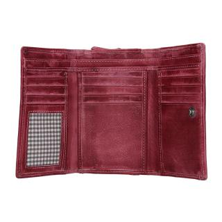 Lagen peněženka plum LG 11/D