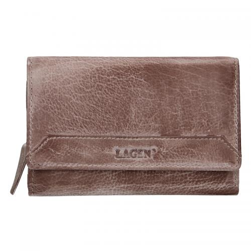 Lagen peněženka taupe LG 11/D