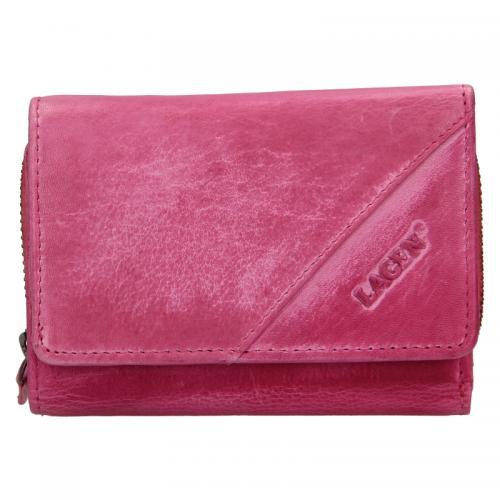 Lagen peněženka fuchsia LG2522/D