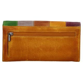 Lagen peněženka žlutá MULTI V17D