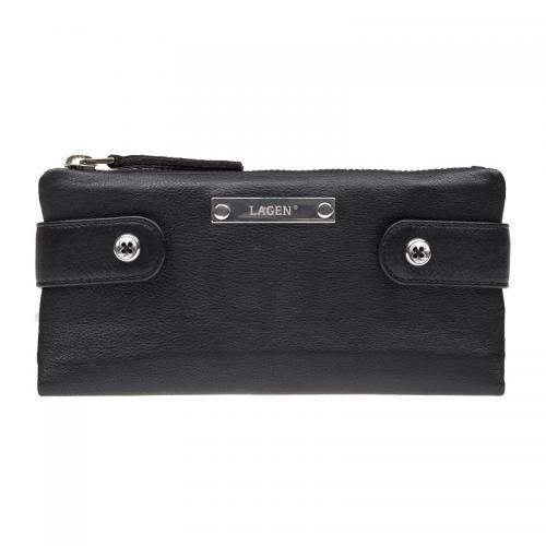 Lagen peněženka černá 958