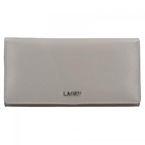 Lagen peněženka šedá 50310