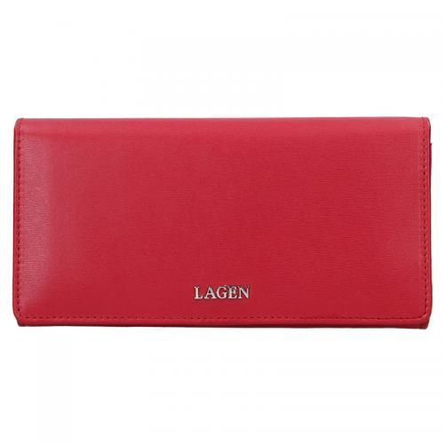 Lagen peněženka červená 50310