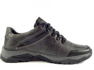 Mateos obuv černo šedá 842