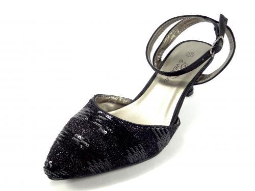 Obuv černá Eveline 3588A/3