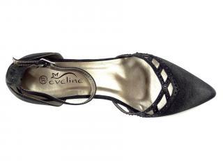 Obuv černá Eveline 98227B