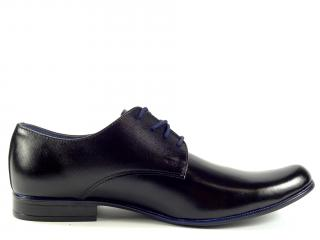Polobotka Lucca černá 170