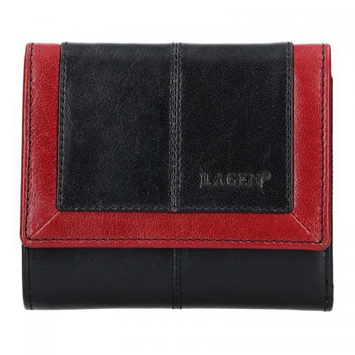 Lagen peněženka black/red 4391