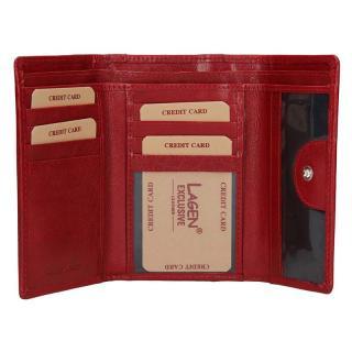 Lagen peněženka red/red 4390