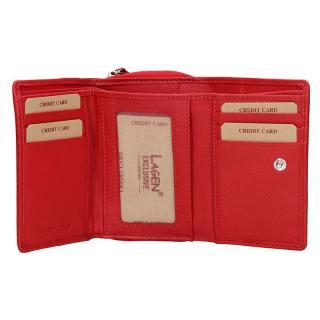 Lagen peněženka červená 4230
