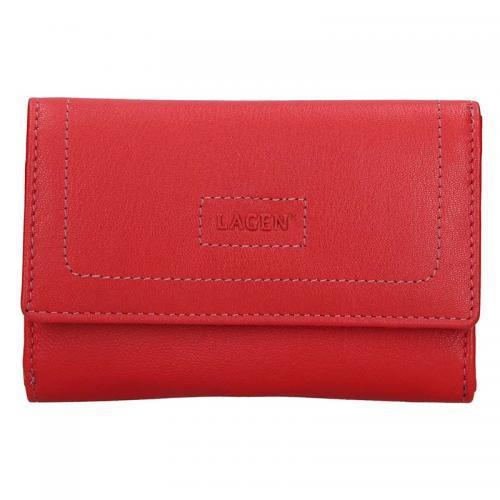 Lagen peněženka červená 4386