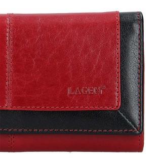 Lagen peněženka red/black 4228