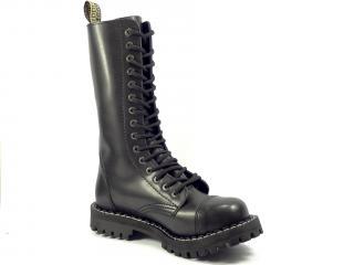 Steel boty 15 dírek 135/136/O/ černá