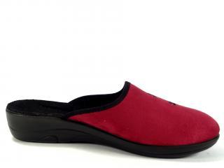 Befado papuče červené 552D004