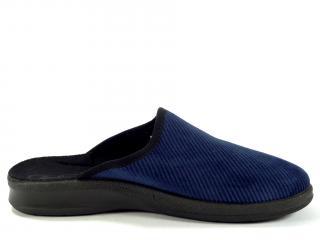 Befado papuče modré 548M019