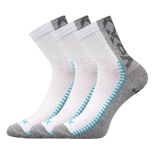 Voxx bílá ponožka Revolt 3 páry