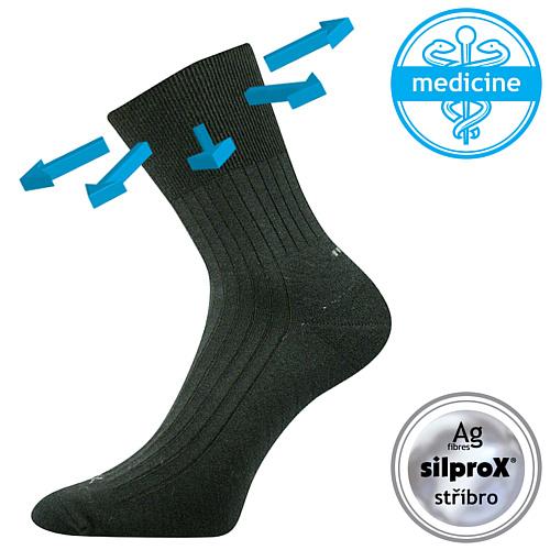 Voxx ponožky černé Corsa Medicine
