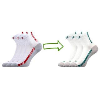 Voxx ponožky bílé Pius 3 páry