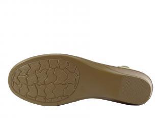 Letní obuv béžová LR 62320