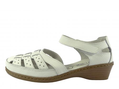 Letní obuv bílá LR 62354