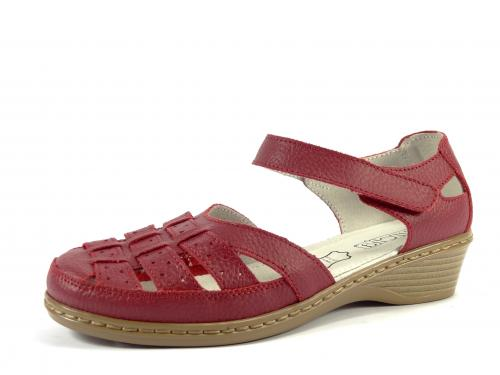 Letní obuv červená LR 62354