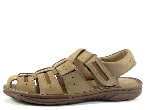 Sandál Mario Boschetti hnědý 199