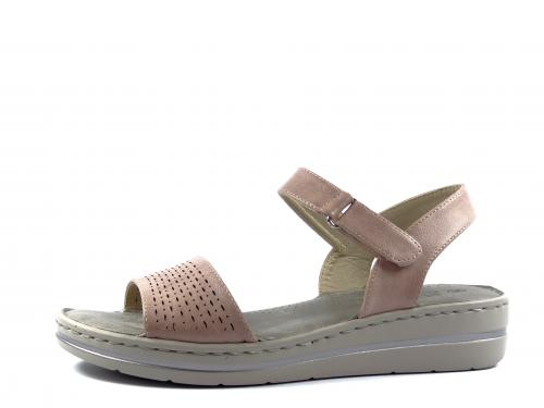 Sandál Eveline růžový 37788