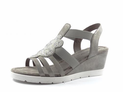 Sandál Eveline šedý 5C43808