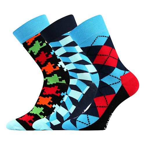 Lonka ponožky mix B 3 páry