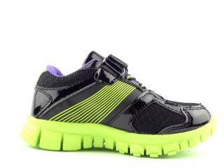 Dětská obuv Axim  zelená 3A1742