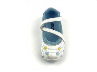 Dětské balerínky Aurelia 21867B blue/white